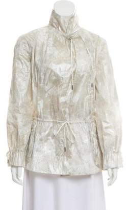 Armani Collezioni Printed Lightweight Jacket