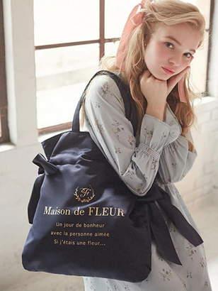 Maison de Fleur (メゾン ド フルール) - Maison de FLEUR ダブルリボントートバッグ メゾン ド フルール バッグ