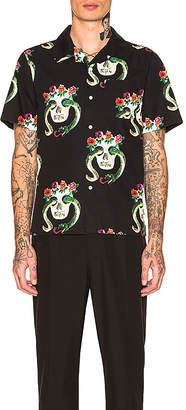 Stussy Skull Pattern Shirt