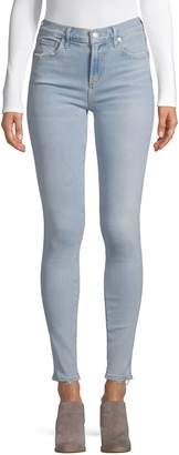A Gold E Agolde Sophie High-Rise Skinny Jeans