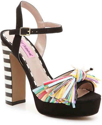 Betsey Johnson Mandy Platform Sandal - Women's