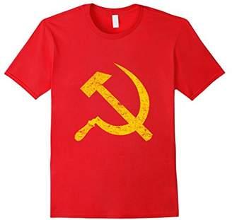 Socialist Hammer and Sickle Vintage T-Shirt