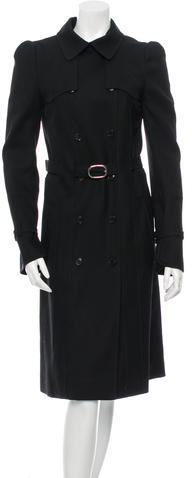 Balenciaga  Balenciaga Wool Trench Coat