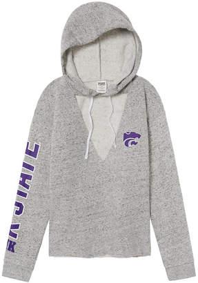 PINK Kansas State University Choker Neck Pullover Hoodie
