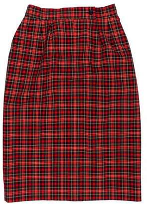 Pendleton Tartan Virgin Wool Skirt
