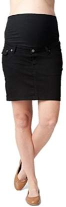 Ripe Maternity Women's Maternity Lite Denim Short Skirt