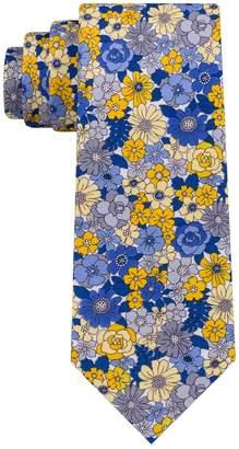 Croft & Barrow Men's Bright Botanical Skinny Tie