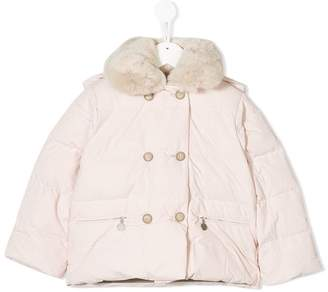 Bonpoint padded fitted jacket