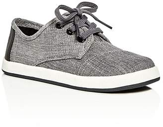 TOMS Boys' Paseo Lace Up Sneakers - Toddler, Little Kid, Big Kid $45 thestylecure.com