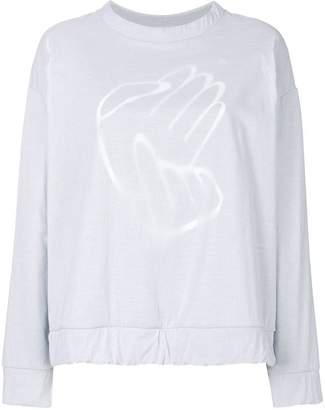 MM6 MAISON MARGIELA double layer sweatshirt