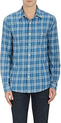 Faherty MEN'S ARROW-PLAID COTTON SHIRT