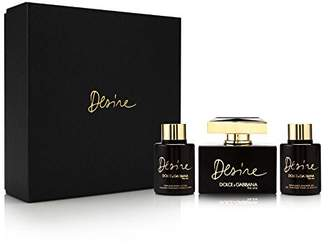 Dolce & Gabbana The One Desire for Women-3 Pc Gift Set 2.5-Ounce EDP Spray, 3.3-Ounce Body Lotion, 3.3-Ounce Shower Gel