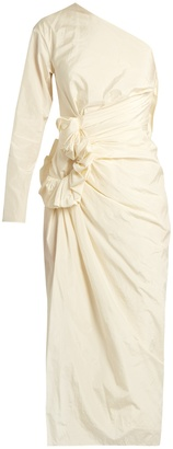 LANVIN One-shouldered taffeta dress $2,843 thestylecure.com