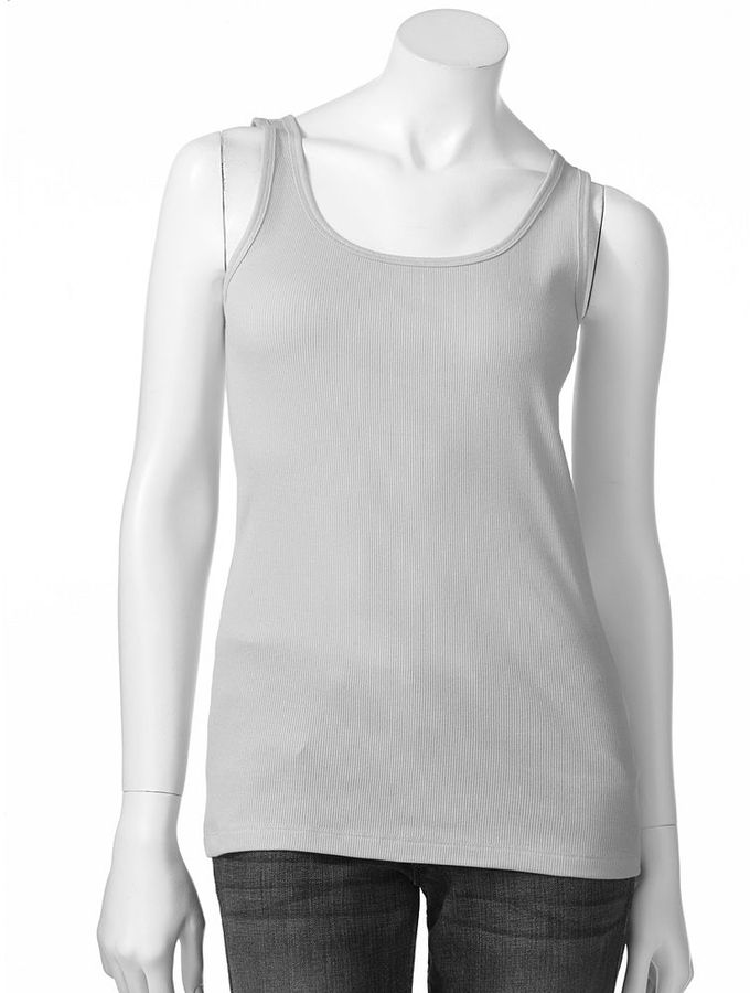 Sonoma life + style ® everyday ribbed tank