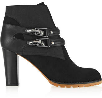 See by Chloe Nubuck Ankle Boots - Black