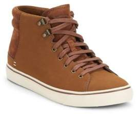 UGG Hoyt Leather & Suede Sneakers