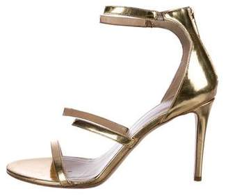 Tamara Mellon Leather Ankle-Strap Sandals