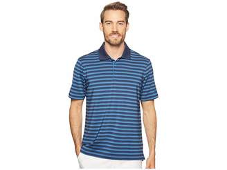 adidas Ultimate 3-Color Stripe Polo Men's Clothing