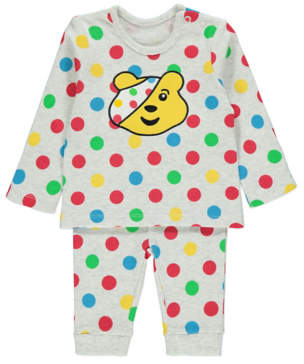 George Children in Need Long Sleeve Top and Joggers Outfit