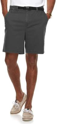 Croft & Barrow Men's Classic-Fit Twill Belted Outdoor Shorts