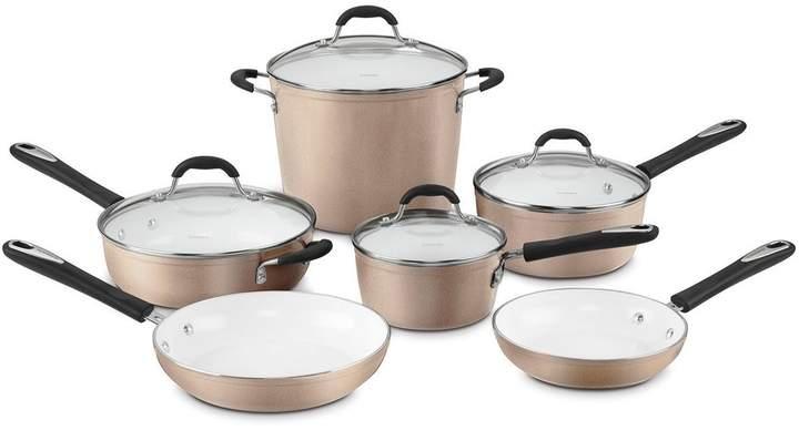 Cuisinart Ceramica 10-pc. Nonstick Ceramic Cookware Set