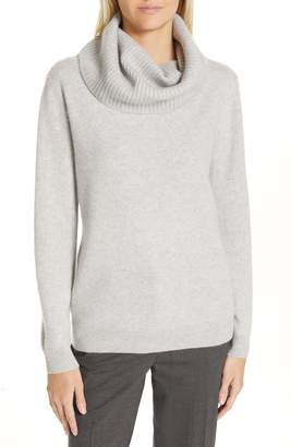 Nordstrom Signature Boiled Cashmere Cowl Neck Sweater