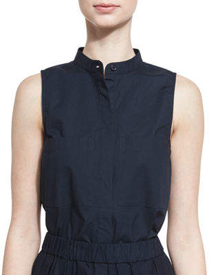 Michael Michael Kors Sleeveless Cotton Blouse