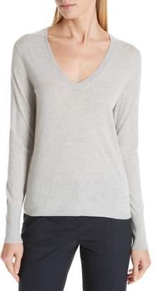 BOSS Flumia V-Neck Wool Sweater