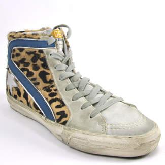 Golden Goose SlideG1 - Cheetah HiTop Sneaker