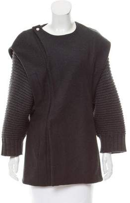 Chalayan Wool Short Coat