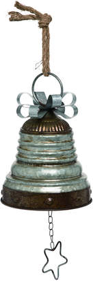 Transpac Metal Small Silver Christmas Bell Decor