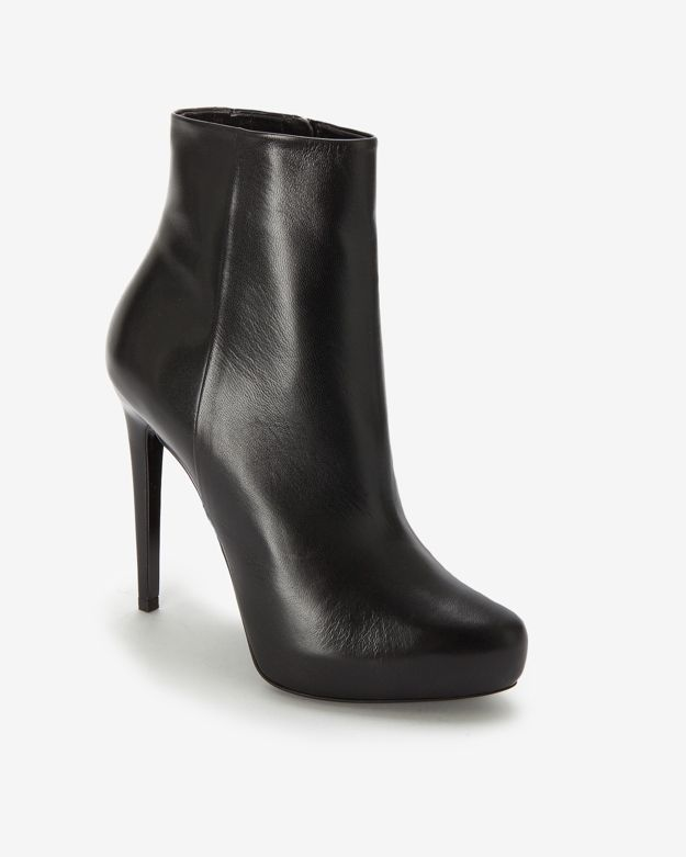 Barbara Bui Smooth Leather Ankle Bootie
