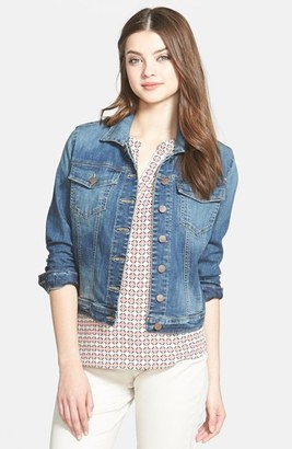 Women's Kut From The Kloth 'Helena' Denim Jacket $74.50 thestylecure.com
