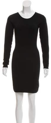 Torn By Ronny Kobo Long Sleeve Knit Dress