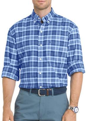 Izod Oxford Plaid Button-Down Shirt