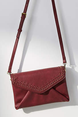 Anthropologie Isabella Whipstitch Envelope Crossbody Bag
