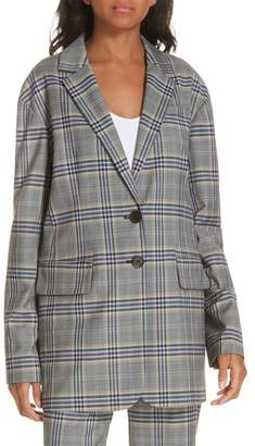 Tibi Lucas Suiting Oversize Blazer