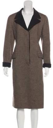 Loro Piana Wool Long Coat