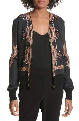 Ted Baker Versailles Zip-Up Cardigan