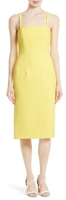 Women's Milly Elle Stretch Crepe Sheath Dress $425 thestylecure.com