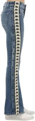 Kappa Authentic Wide Leg Cotton Denim Jeans
