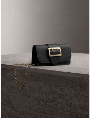 Burberry The Mini Buckle Bag in Grainy Leather $695 thestylecure.com