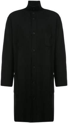 Yohji Yamamoto old man high neck cardigan