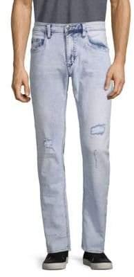 Buffalo David Bitton Ash Distressed Skinny Jeans