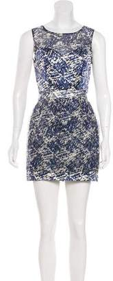 Timo Weiland Sleeveless Printed Silk Dress