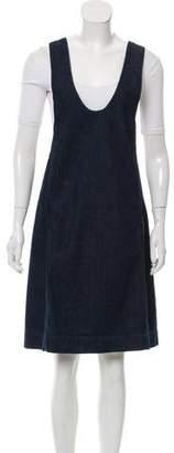 Rosetta Getty 2016 Denim Dress w/ Tags