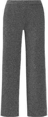 Missoni Cropped Metallic Knitted Straight-Leg Pants
