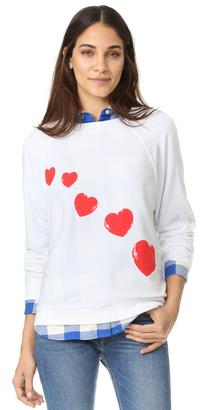 Wildfox Cupid's Trail Sweatshirt $108 thestylecure.com