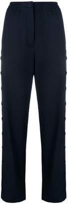 Joseph button side high waist joggers