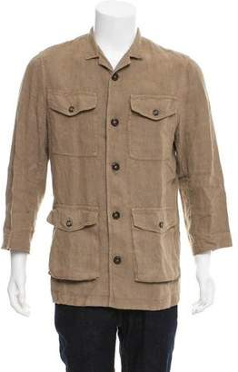 Etro Button-Up Safari Jacket